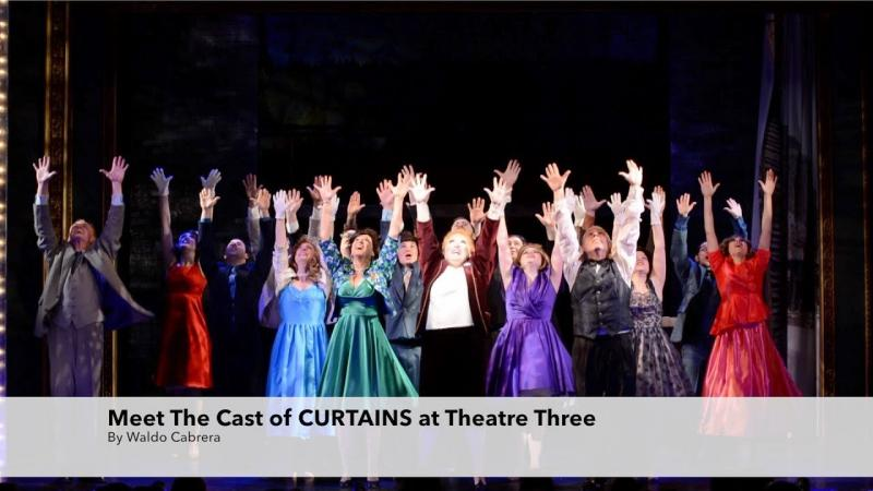 Meet the Cast of Curtains at Theatre Three In Port Jefferson