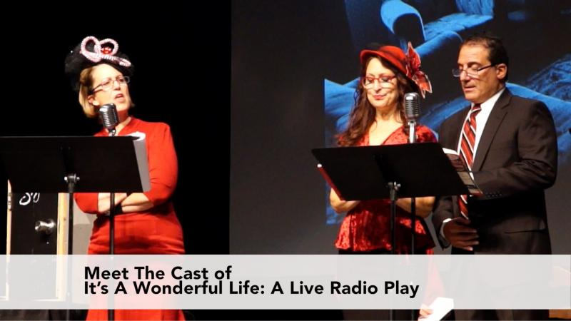 Meet The Cast: Its A Wonderful Life: A Live Radio Play
