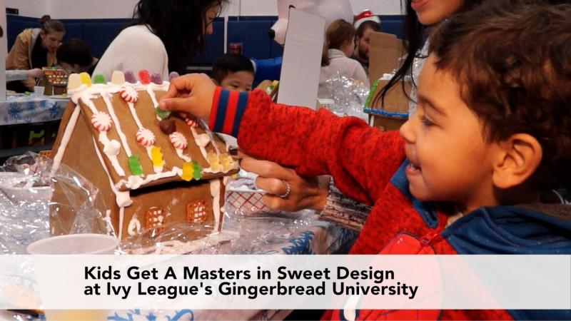 Kids Get A Masters in Sweet Design at Ivy League's Gingerbread University
