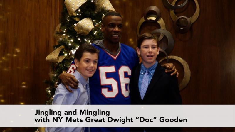 Jingle and Mingle with NY Mets Legend Dwight Gooden