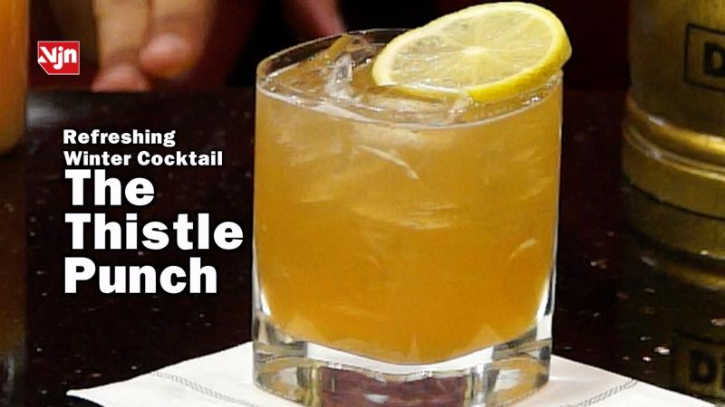 Drambuie Refreshing Winter Drink - The Thistle Punch