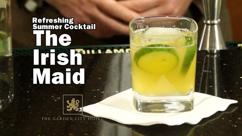 Tullamore Dew Refreshing Summer Drink - The Irish Maid