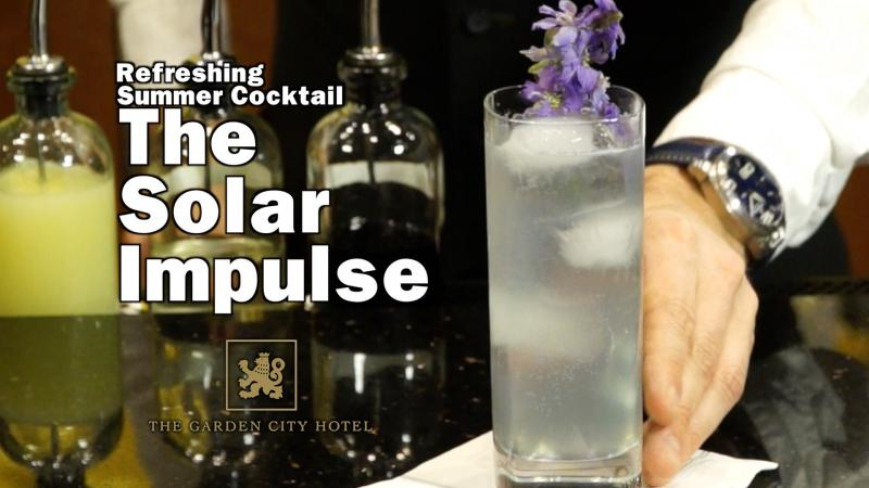 Hendrick's Gin Refreshing Summer Drink - The Solar Impulse