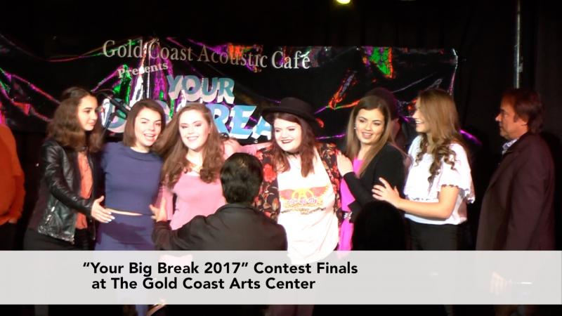 Your Big Break Talent Competition at The Gold Coast Arts Center