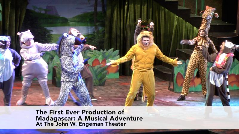 The First Ever Production of Madagascar at the John W. Engeman Theater in Northport