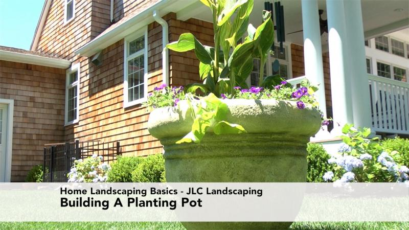 Home Landscaping Basics - How To Build A Planting Pot