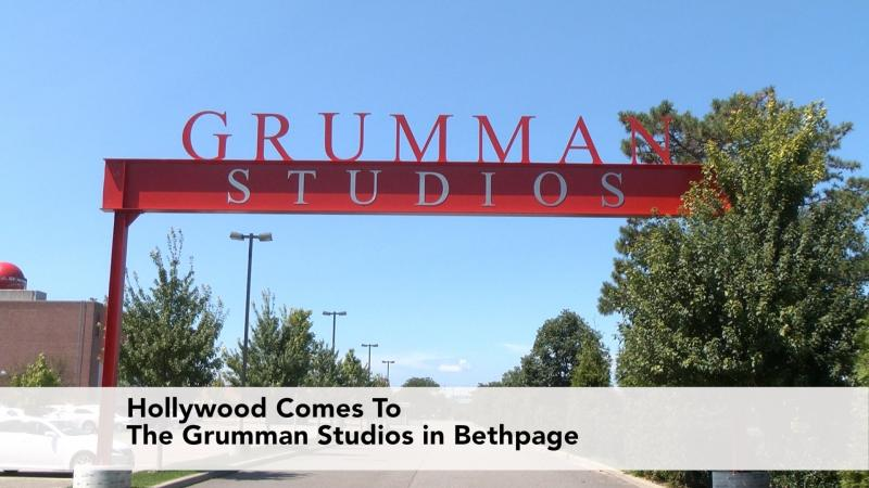 Hollywood Comes To The Grumman Studios in Bethpage