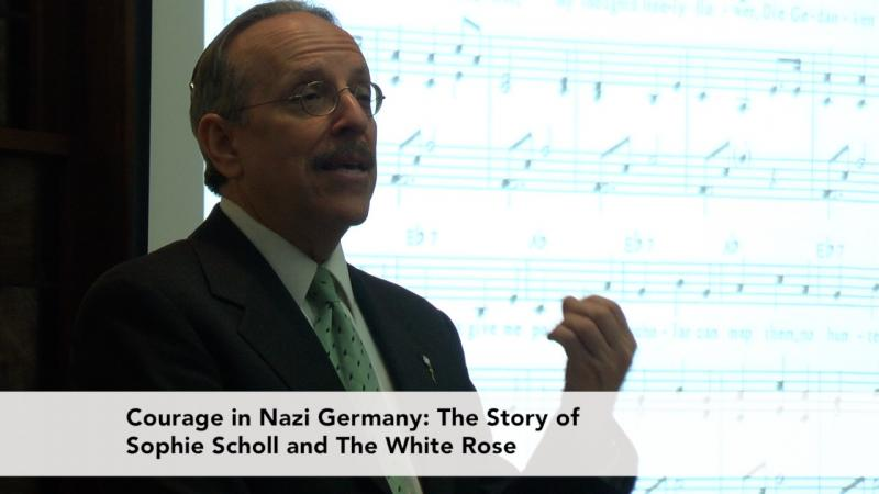 Courage in Nazi Germany: The Story of Sophie and the White Rose Jud Newborn