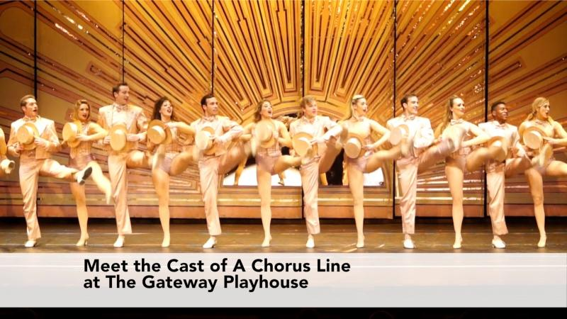 Meet The Cast of A Chorus Line At The Gateway