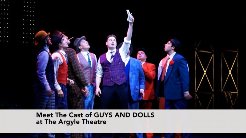 Meet The Cast of Guys and Dolls at the Argyle Theatre