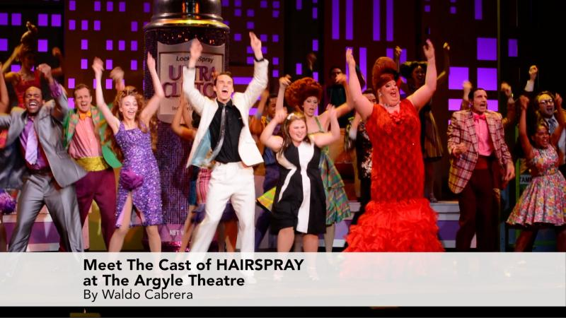 Meet The Cast of Hairspray at the Argyle Theatre